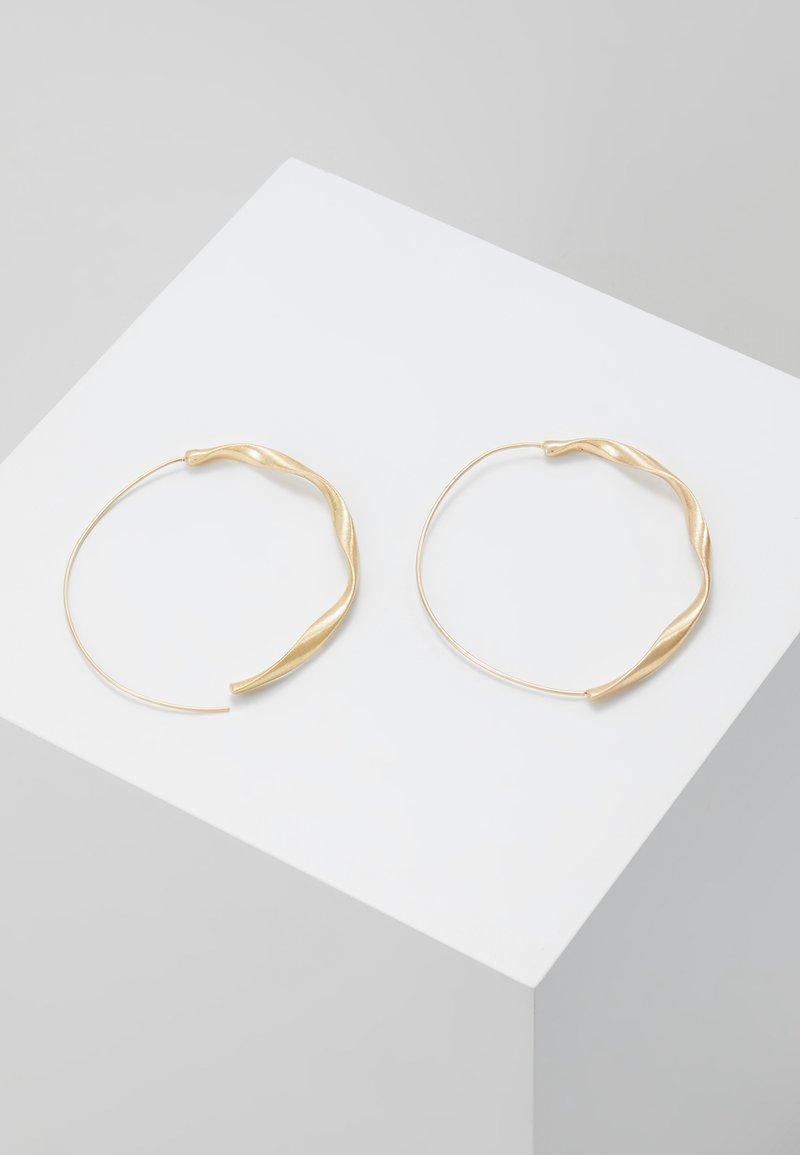 Dansk Smykkekunst - Tara - Earrings - gold-coloured
