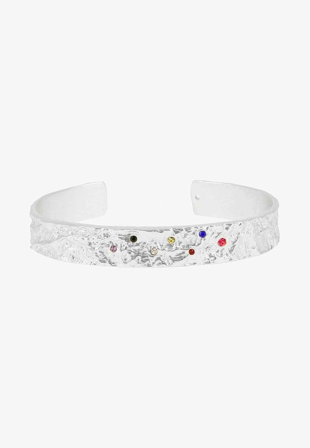 AMBER RAINBOW - Armband - silver-coloured