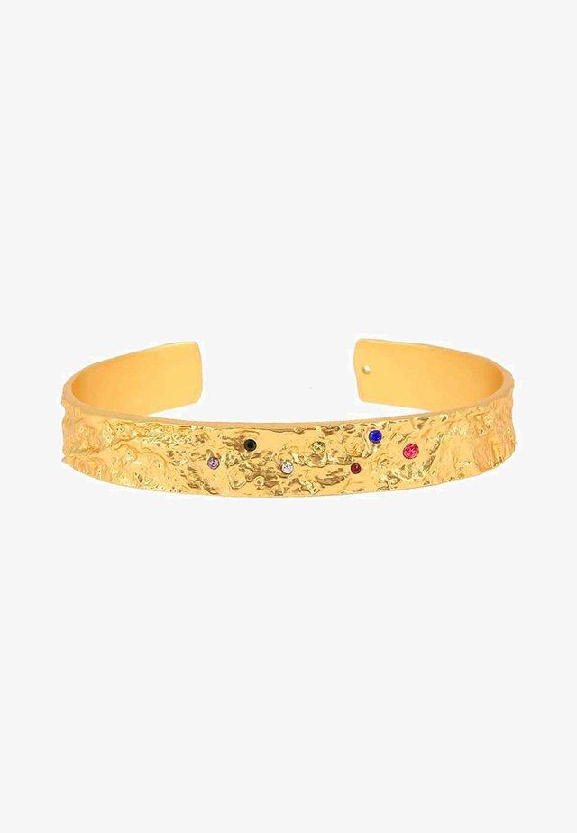 AMBER RAINBOW - Armbånd - gold-coloured