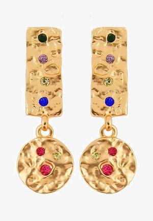 AMBER RAINBOW - Korvakorut - gold-coloured