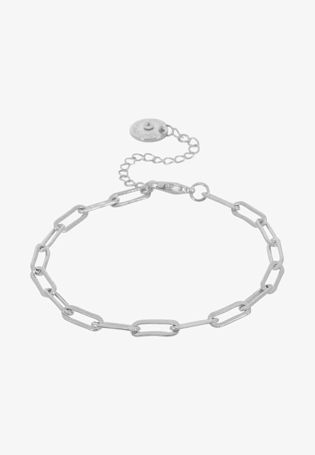 RIPPLE CHAIN - Armbånd - silver-coloured