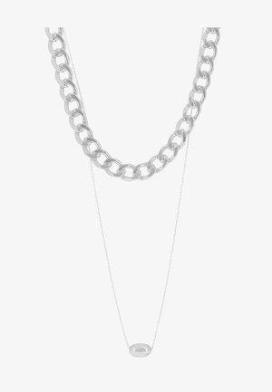 PEBBLE - Ketting - silver-coloured