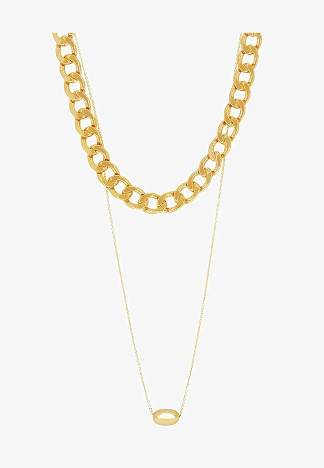 PEBBLE - Halskette - gold-coloured