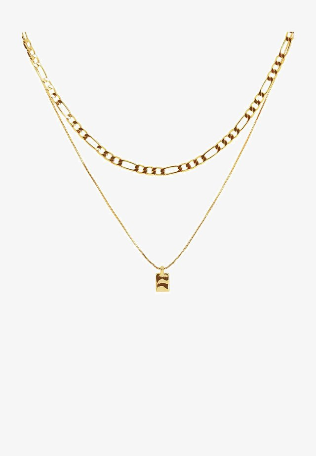 RIPPLE SQUARE - Halsband - gold-coloured
