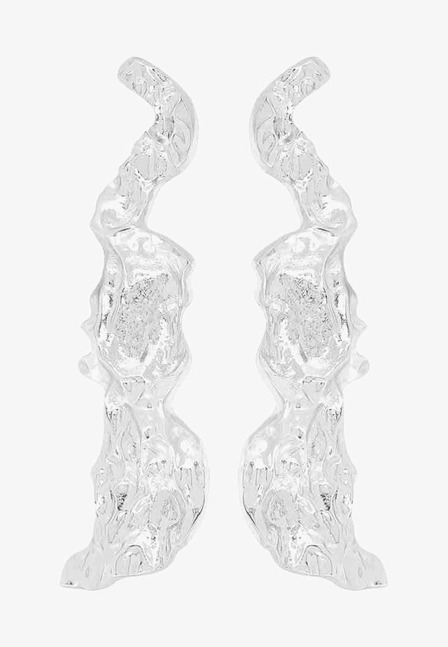 FLUID - Korvakorut - silver-coloured