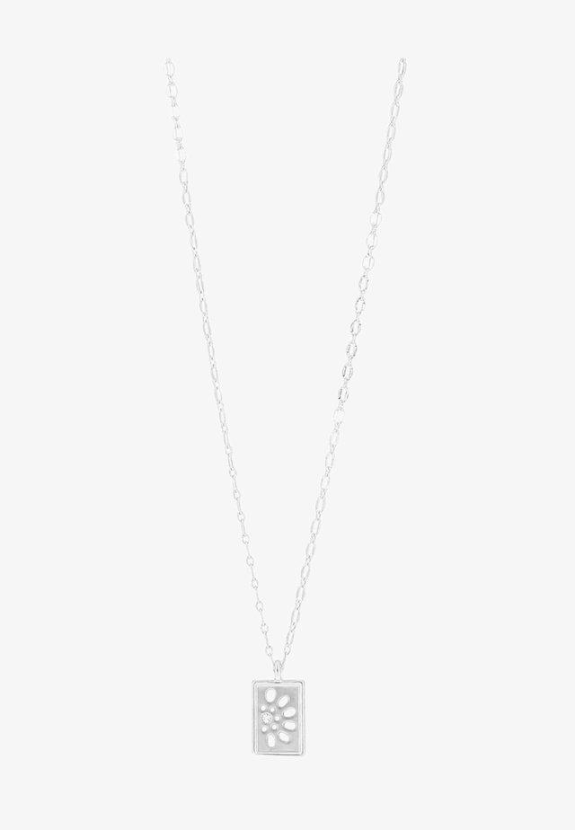 DAISY - Halskæder - silver-coloured