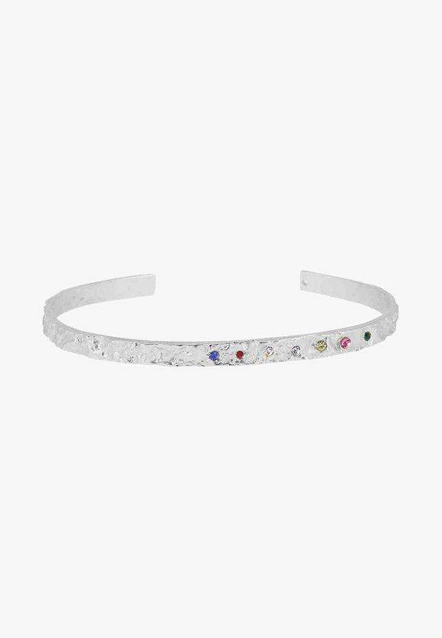 AMBER SLIM RAINBOW - Rannekoru - silver-coloured