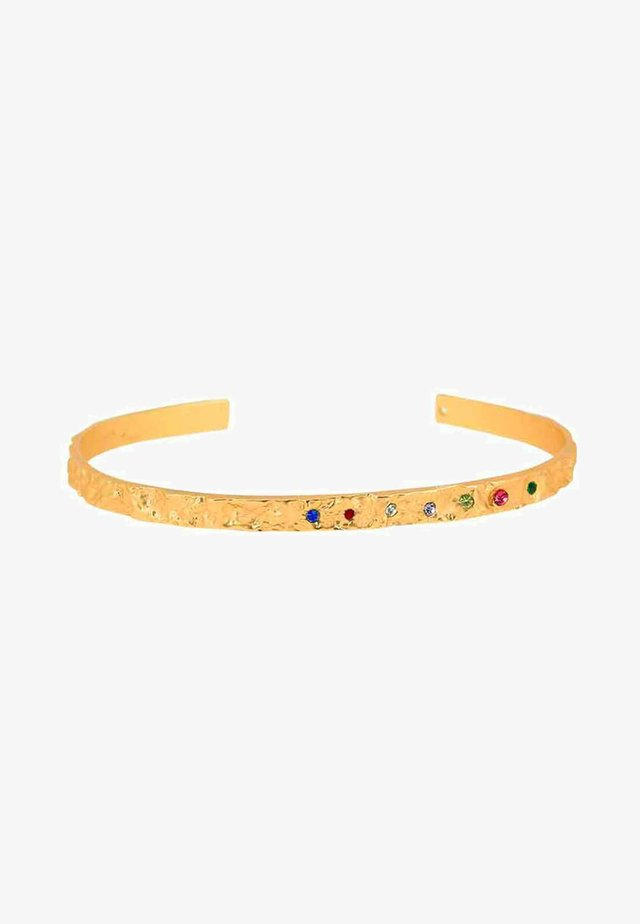 AMBER SLIM RAINBOW - Armbånd - gold