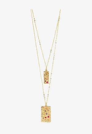 AMBER RAINBOW - Halskette - gold-coloured
