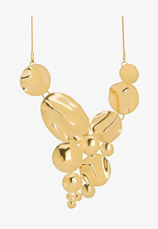 RIPPLE CIRCLE - Halskette - gold-coloured
