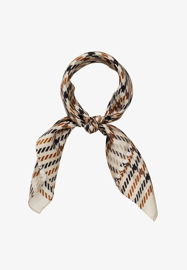 MINI PEPITA CHECK - Foulard - cement