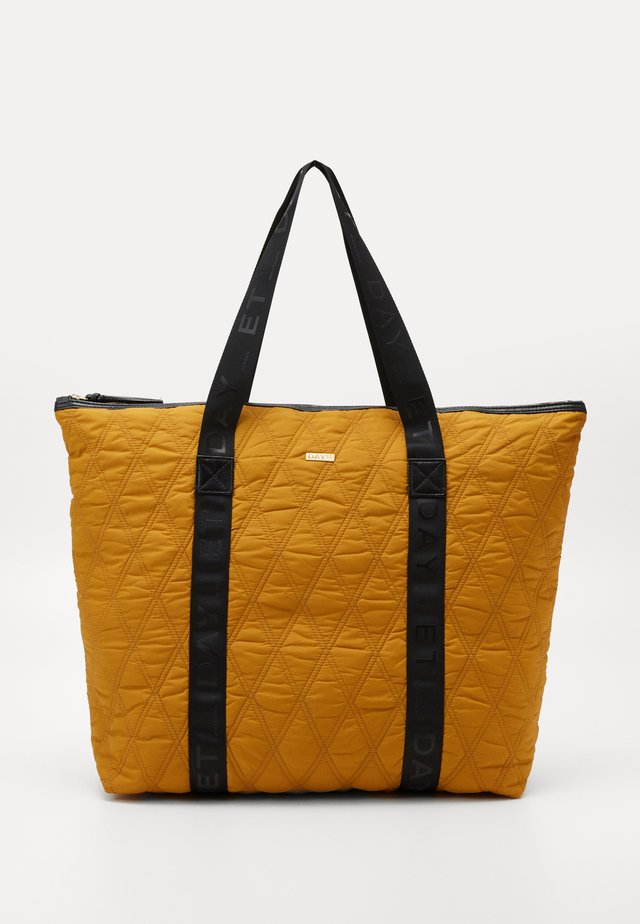 DIAMOND BAG - Shopping bag - mustard yellow