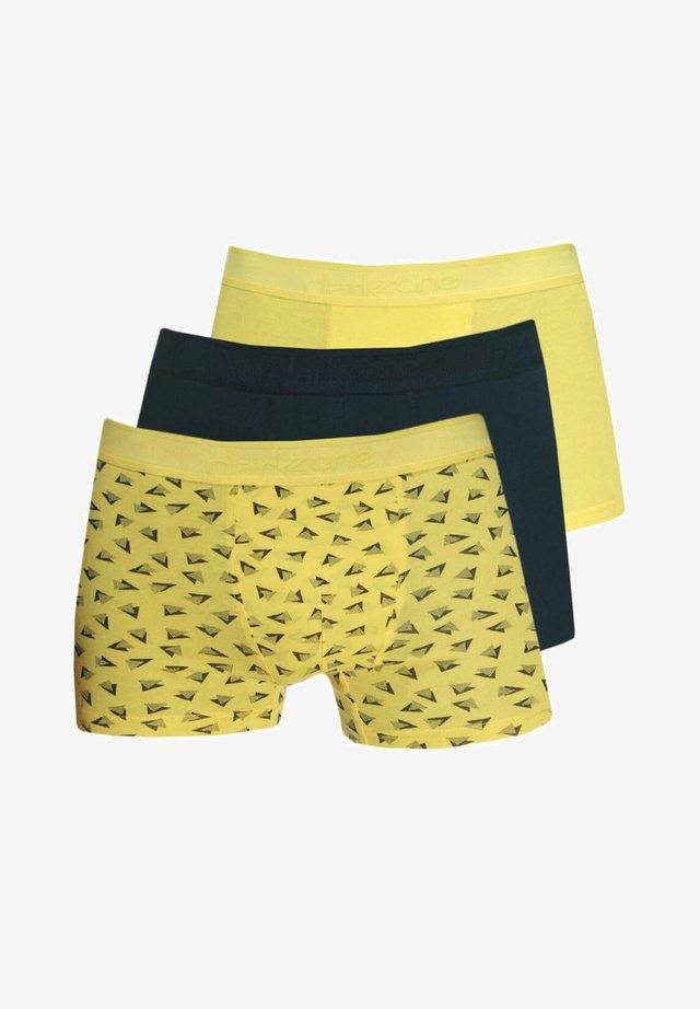 Pants - schwarz/gelb