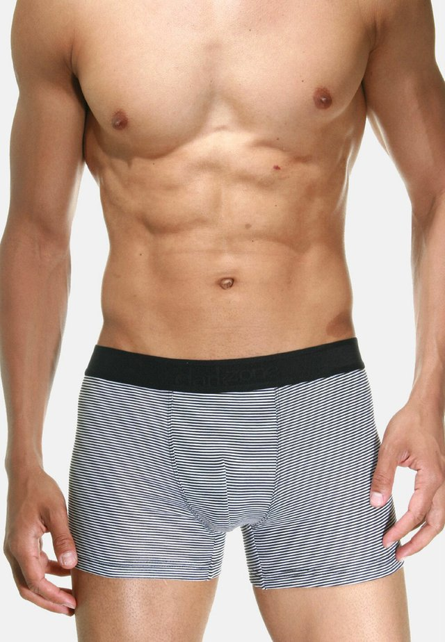 Pants - schwarz/weiss