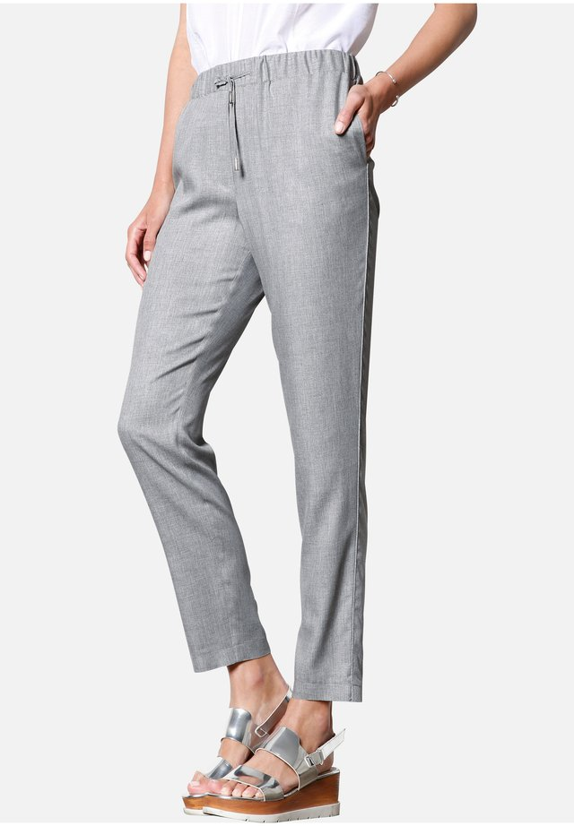 HOSE JOGGER-STYLE - Trousers - hellgrau-m