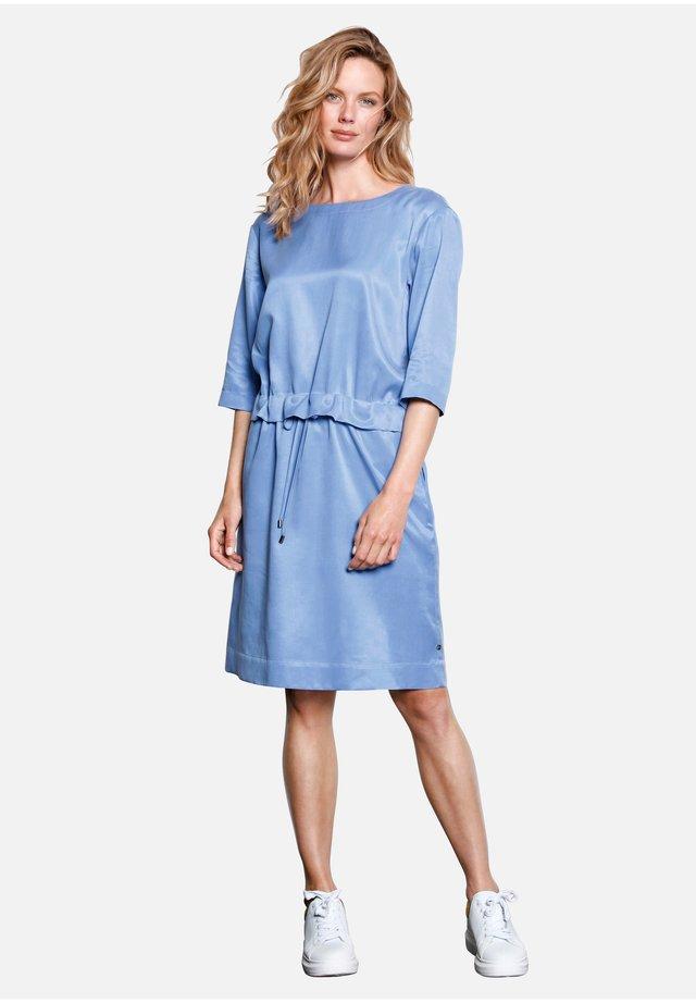 Korte jurk - enzianblau