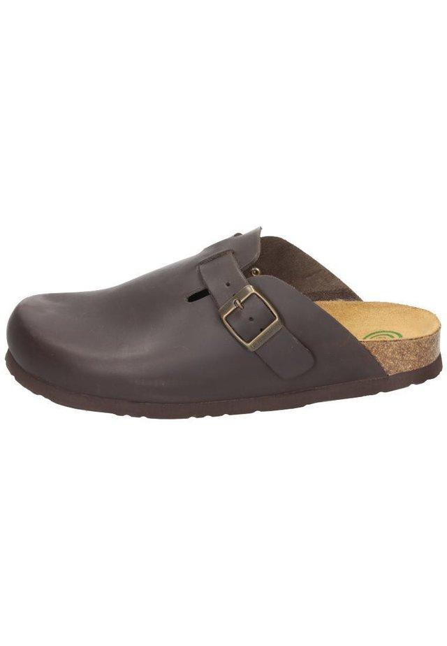 Clogs - marron