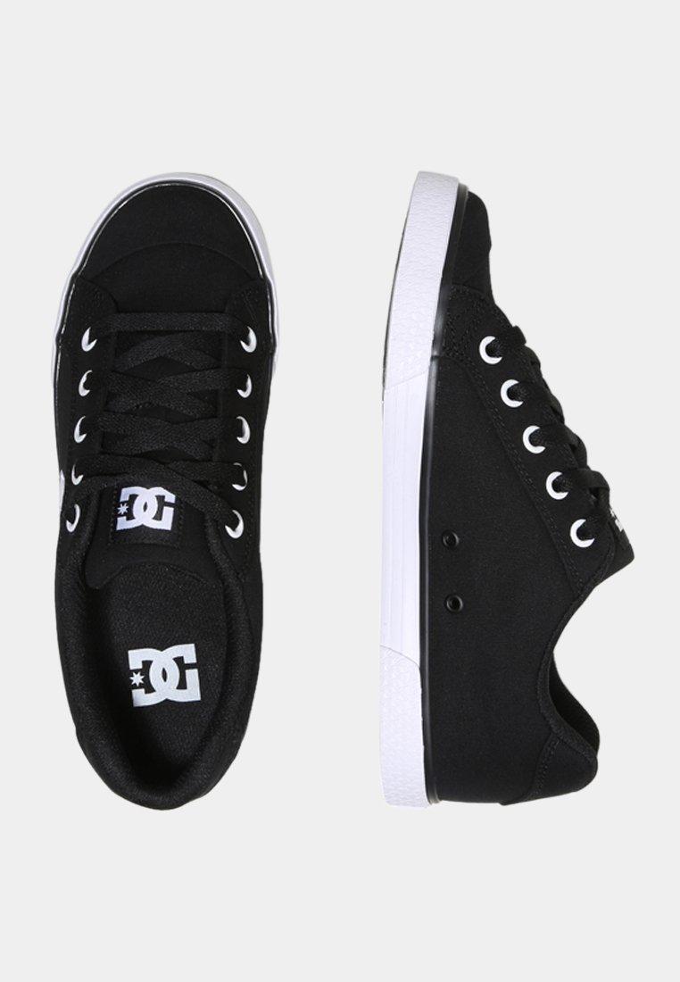 DC Shoes CHELSEA TX Baskets basses blackwhite ZALANDO.FR