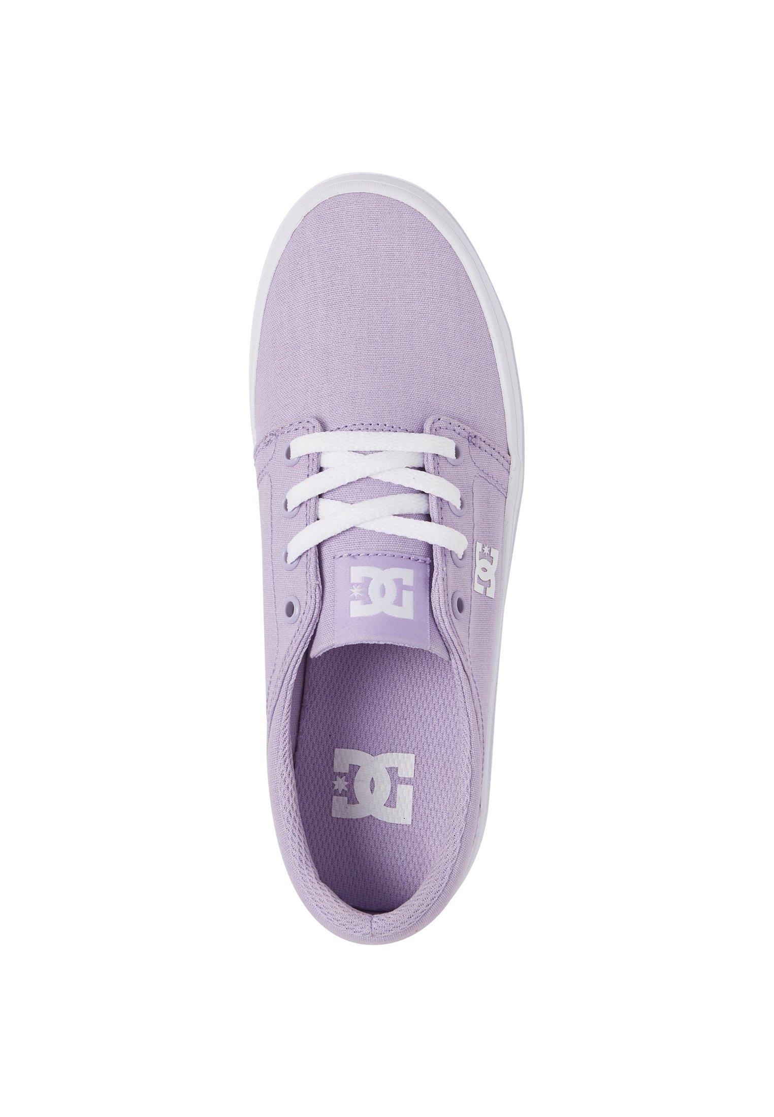 DC Shoes TRASE PLATFORM TX - Sneaker low - lilac thohyt