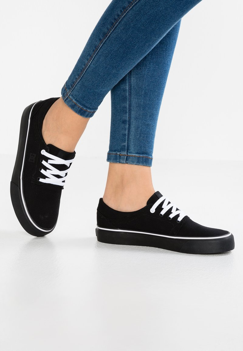 DC Shoes - TRASE - Sneakers laag - black/white