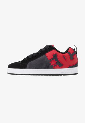 COURT GRAFFIK SE - Skatesko - black/red