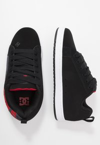 DC Shoes - COURT GRAFFIK SE - Zapatillas skate - black/red - 1