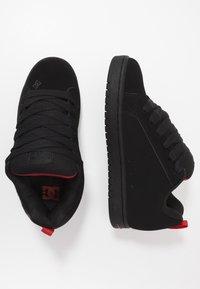 DC Shoes - COURT GRAFFIK SE - Skateboardové boty - black - 1
