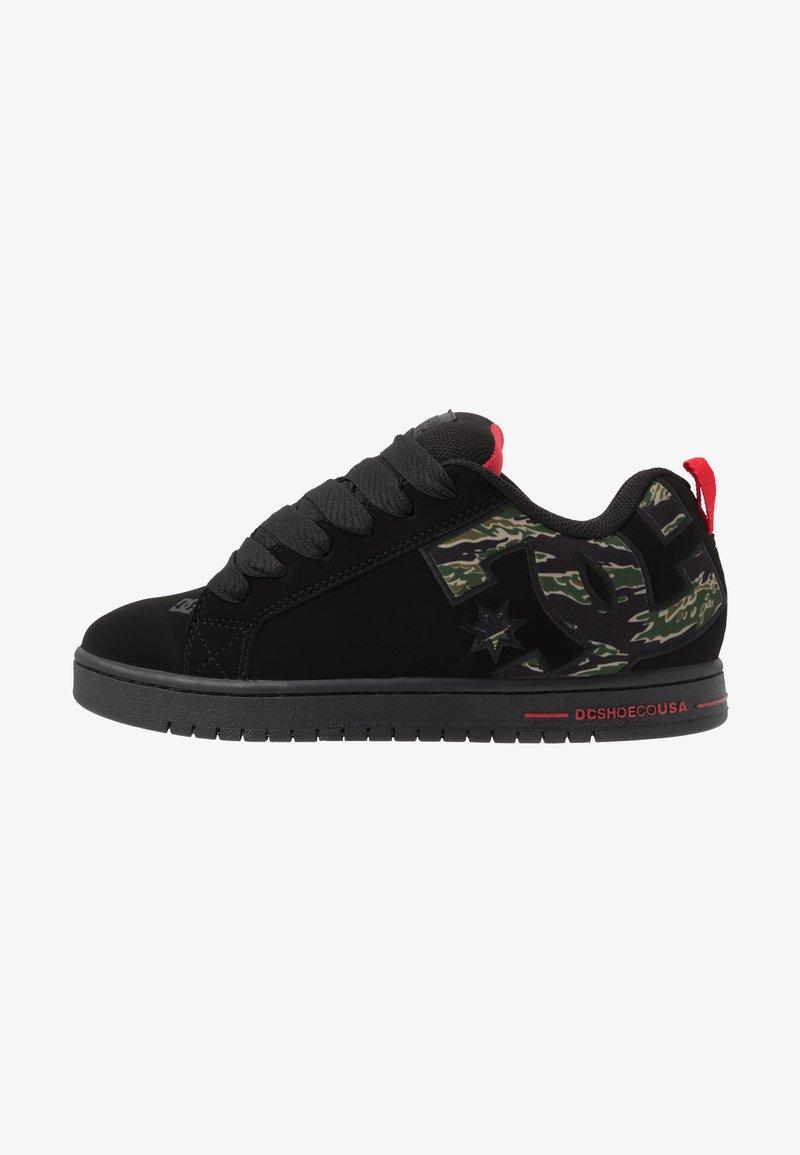 DC Shoes - COURT GRAFFIK SE - Skateboardové boty - black
