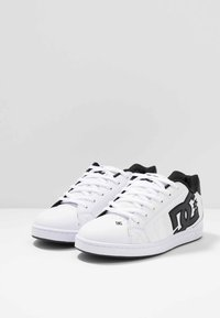 DC Shoes - NET - Skate shoes - white/gold - 2