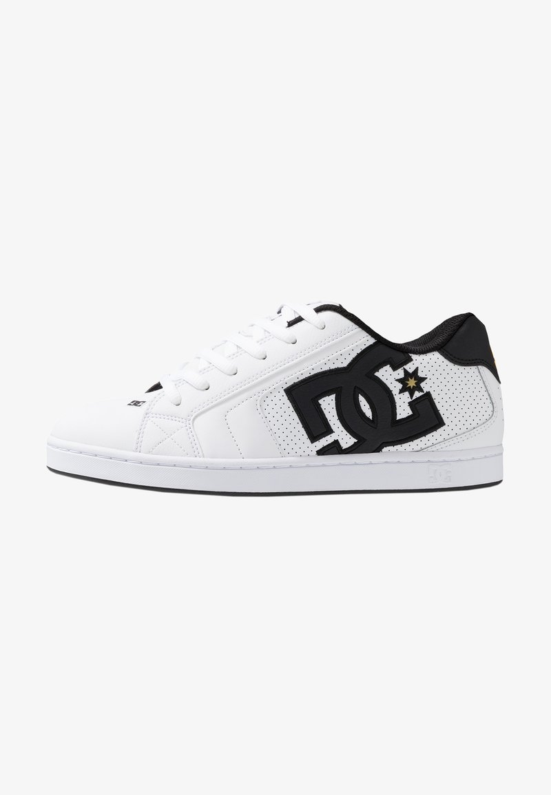 DC Shoes - NET - Skate shoes - white/gold