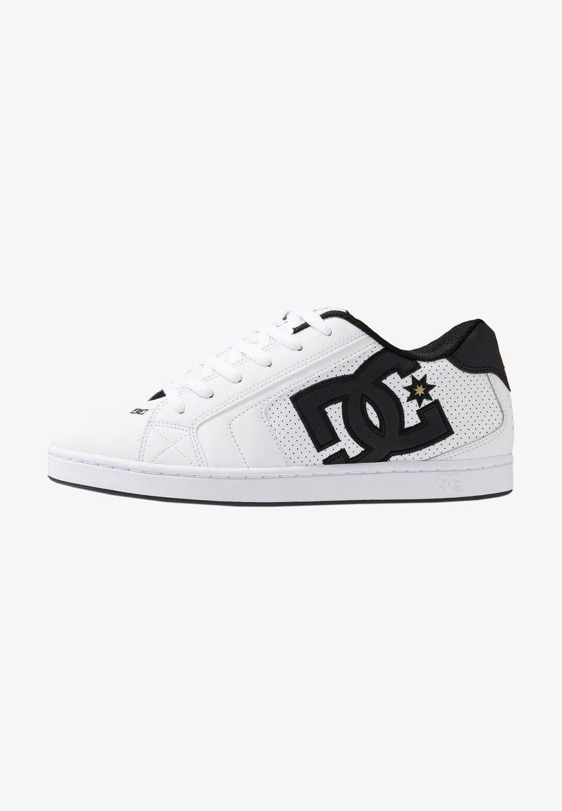 DC Shoes - NET - Chaussures de skate - white/gold