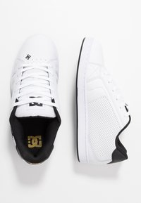 DC Shoes - NET - Skate shoes - white/gold - 1