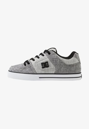 PURE SE - Zapatillas skate - grey/white/grey