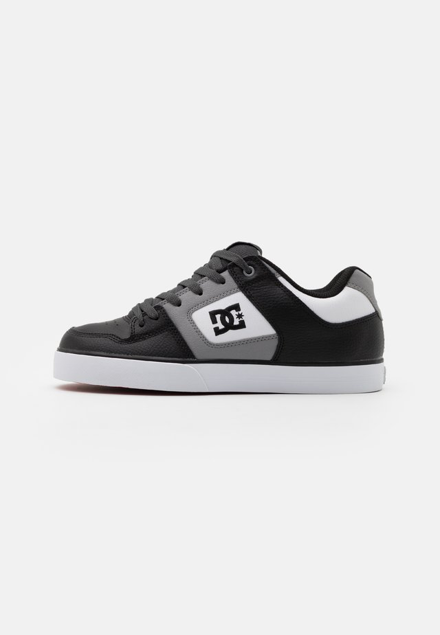 PURE - Skateboardové boty - white/grey/black