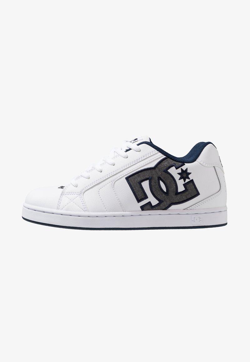 DC Shoes - NET SE - Skatesko - white/battleship