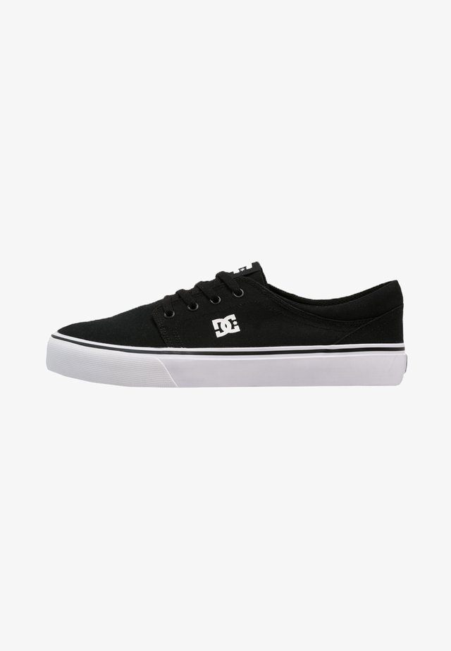 TRASE - Zapatillas skate - black/white