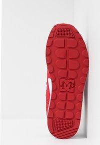 DC Shoes - KALIS LITE - Skate shoes - black/white/red - 4