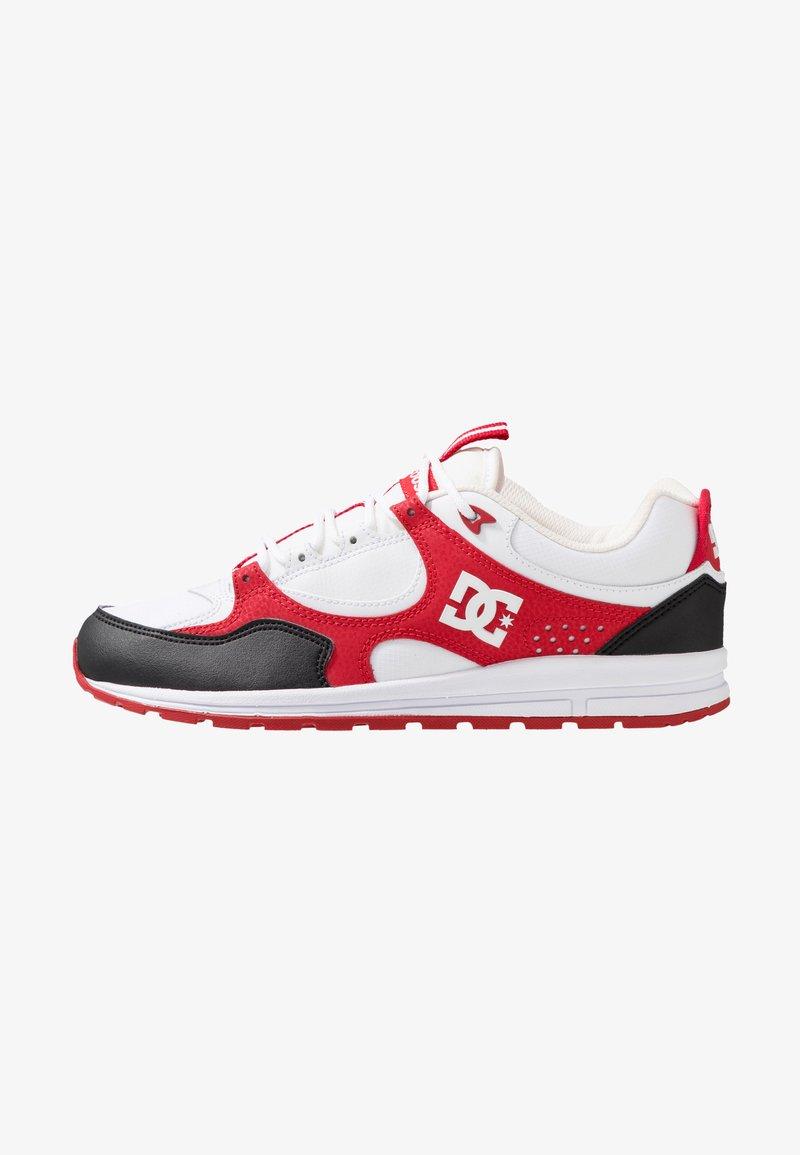 DC Shoes - KALIS LITE - Skate shoes - black/white/red