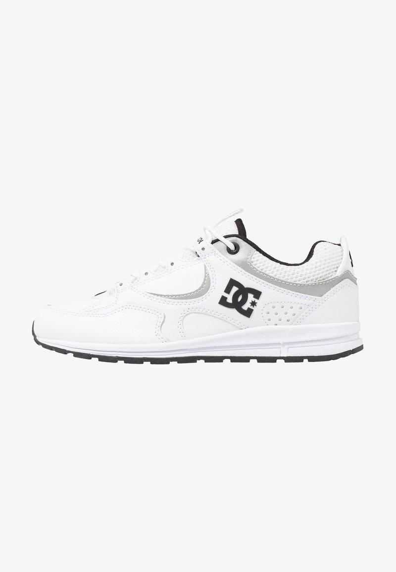 DC Shoes - KALIS LITE SE - Skate shoes - white/black