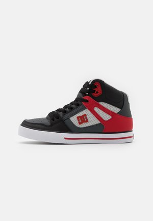 PURE - Zapatillas skate - grey/red