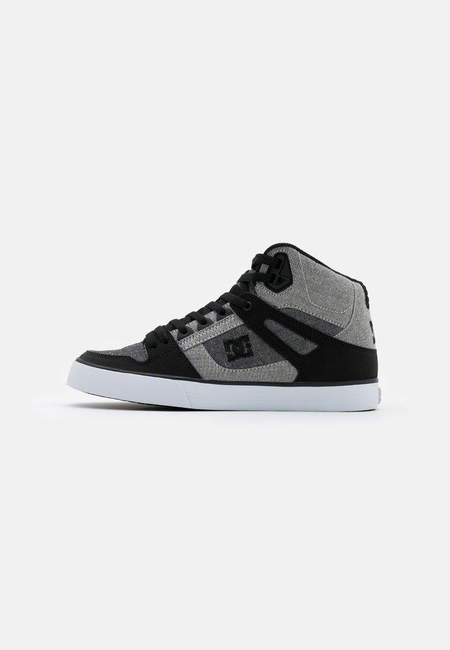 PURE - Skateschoenen - black/heather grey
