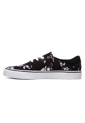 DC SHOES™ TRASE SP - SCHUHE FÜR MÄNNER ADYS300181 - Sneakers laag - black/white print