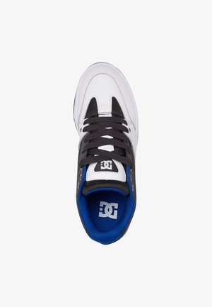 Trainers - black/white/blue