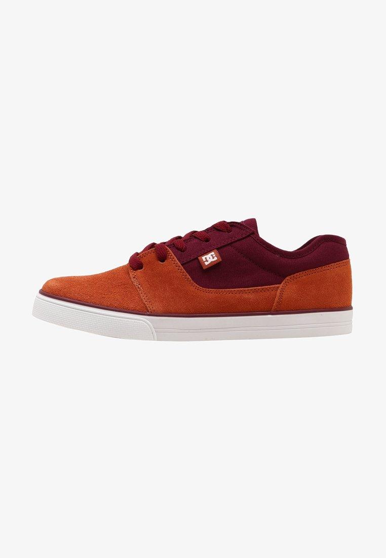DC Shoes - TONIK - Sneakersy niskie - burgundy/tan