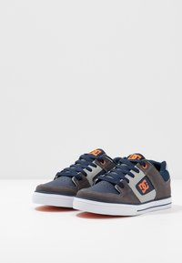 DC Shoes - PURE - Chaussures de skate - grey/dark navy - 3