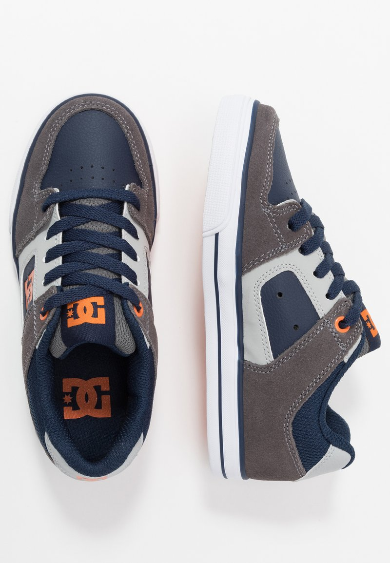 DC Shoes - PURE - Chaussures de skate - grey/dark navy
