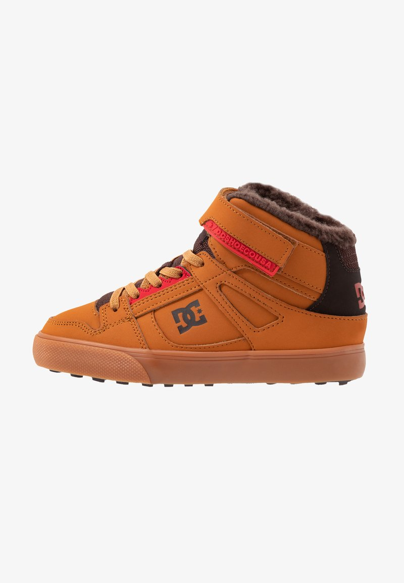 DC Shoes - PURE - Skateboardové boty - wheat/dark chocolate
