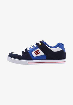 PURE - Baskets basses - navy/red