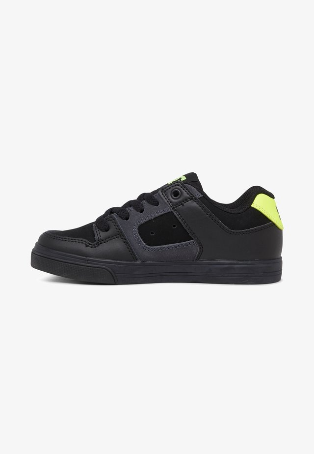 PURE - Sneaker low - black/yellow