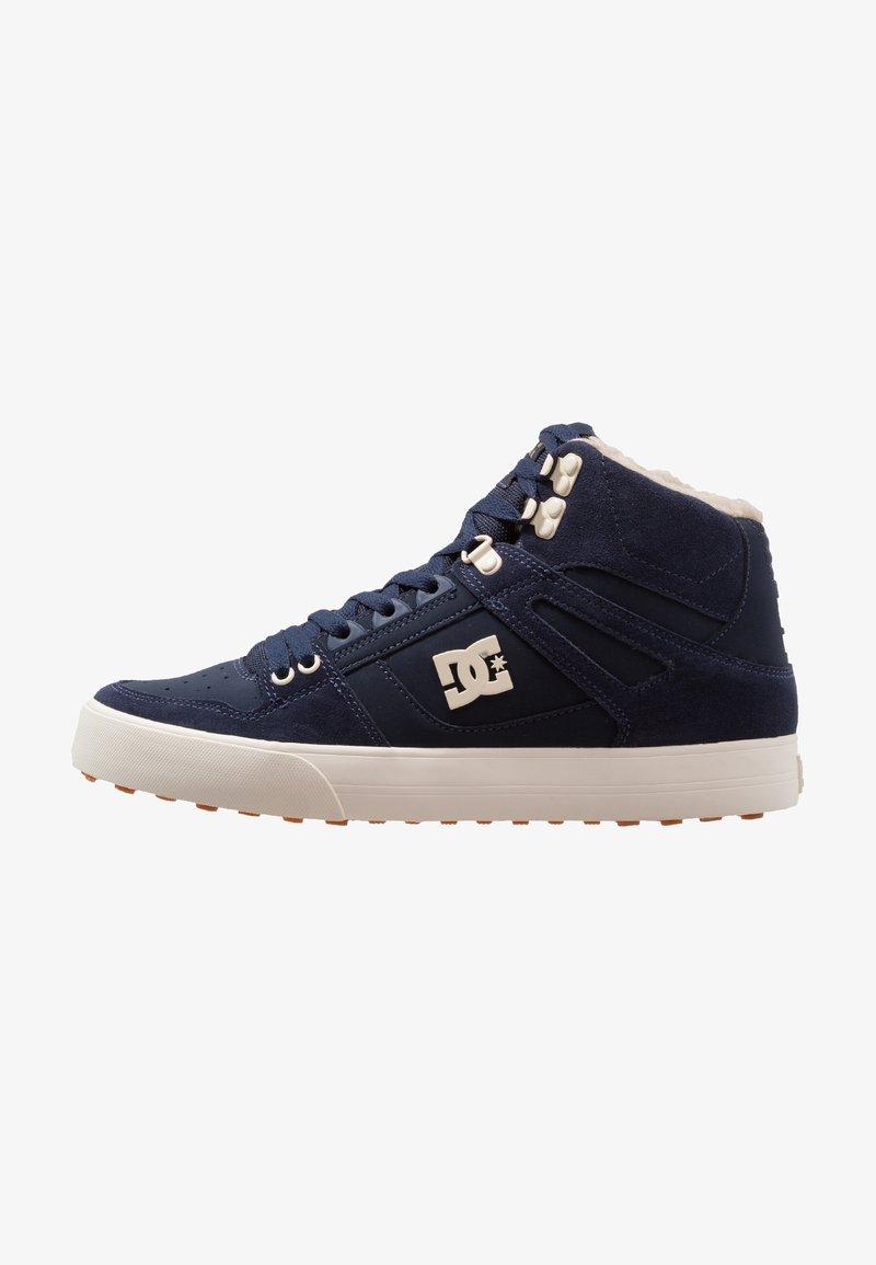 DC Shoes - PURE - Skate shoes - navy/khaki